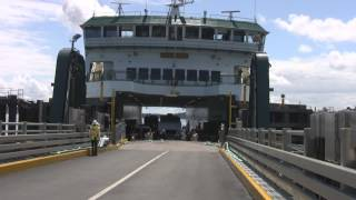 Loading onto the Ferry Boat