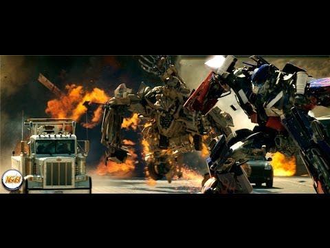 Transformers (2007) Optimus Prime VS Bonecrusher 1080p [HD]