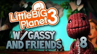 Butt-Smacking Bird & Racing! (Little Big Planet 3 #8)