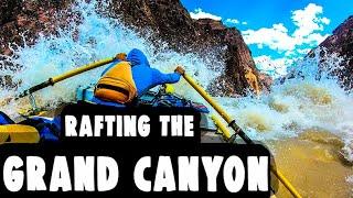 Rafting the Colorado River through the Grand Canyon