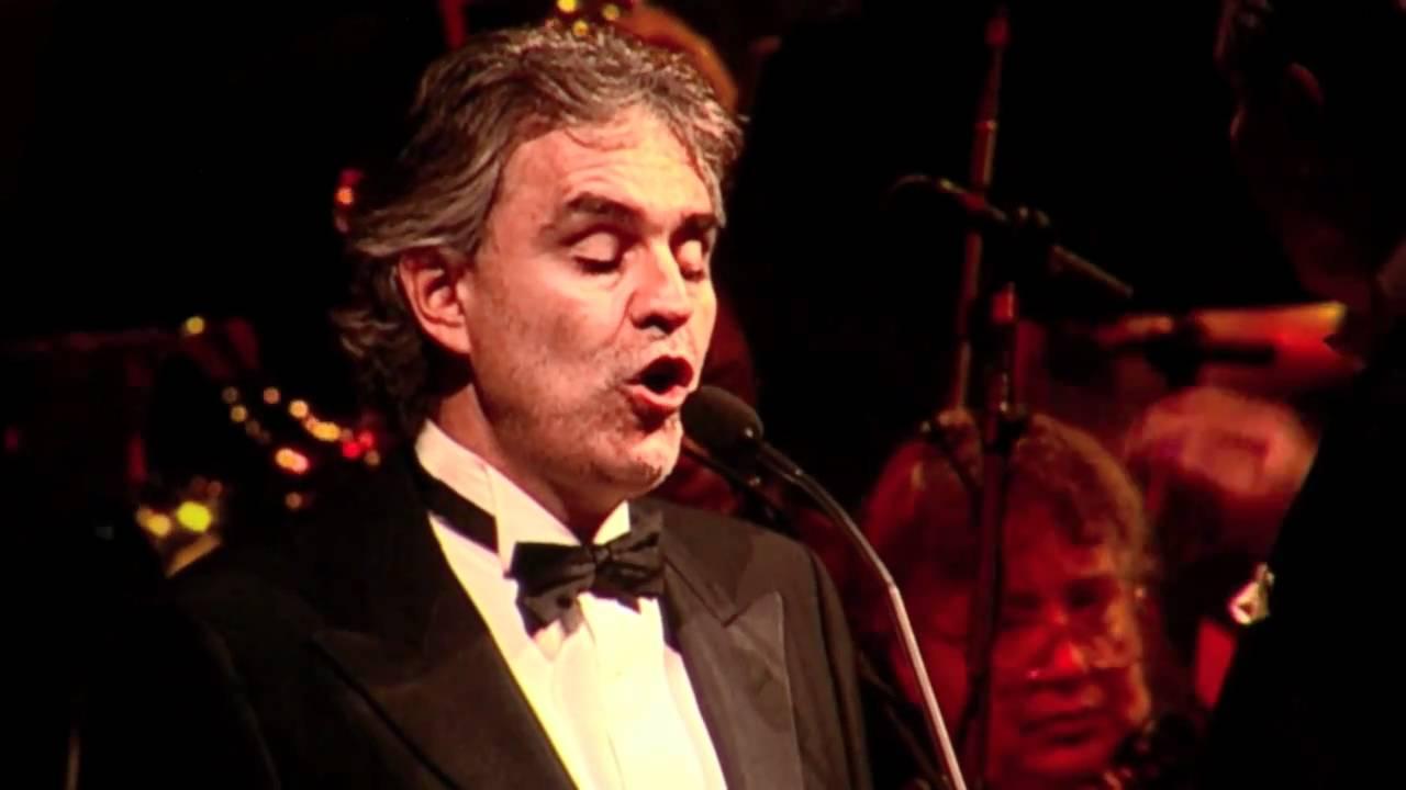 Andrea Bocelli Msg My Christmas 12 2 10 Funiculi Funicula Denza Turco Hd Youtube