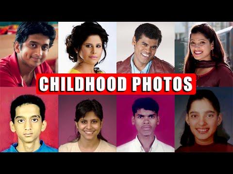 Childhood Photos Of Marathi Actors - Amar Photo Studio - Amey Wagh, Lalit Prabhakar, Pooja Thombare