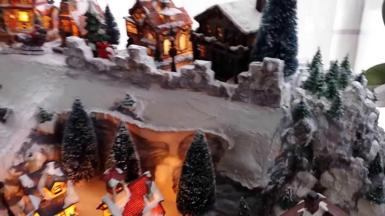 Winterlandschaft selbst gemacht youtube - Winterlandschaft deko ...