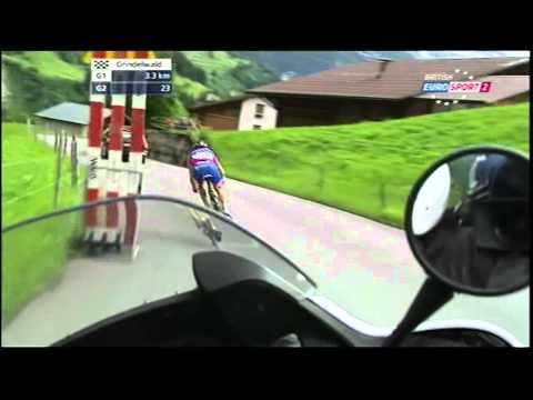 Wonderful bicycle racing and camerawork. 2011 Tour de Suisse.