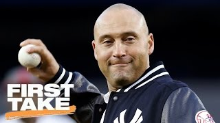 Should A-Rod Have Gone To Jeter's Retirement Ceremony?   First Take   May 15, 2017