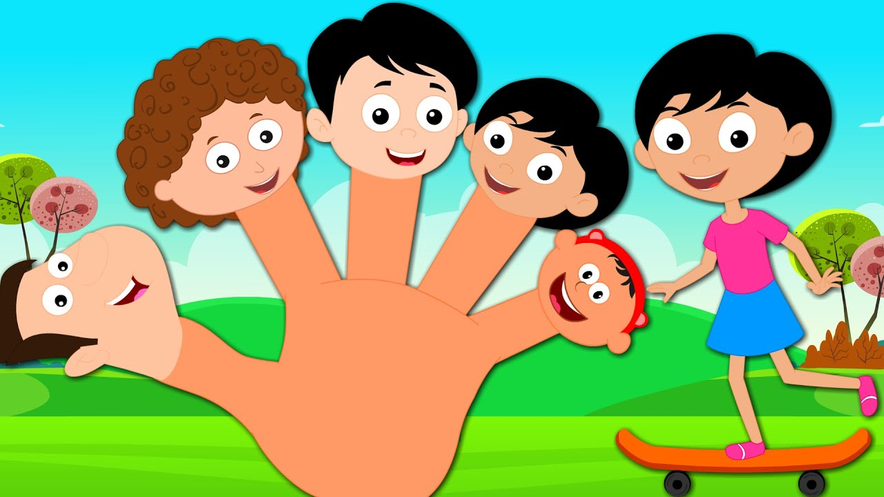 Family Finger Family Song Nursery Rhymes And Children S