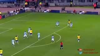 Willian amazing elastico   Argentina vs Brazil 1-1