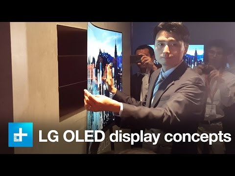 LG Flexible OLED design at IFA 2105