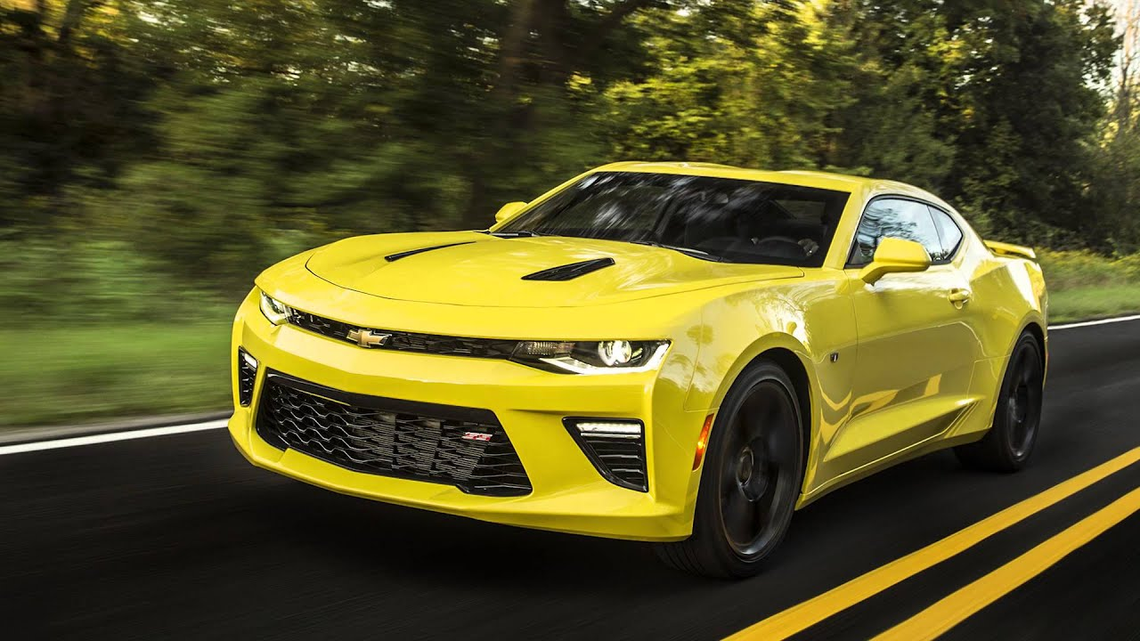 Chevy Camaro SS: Motor Authority\'s Best Car To Buy 2016 - YouTube