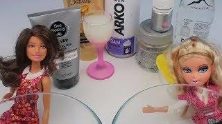 Tutkalsız Borakssız Barbie vs Bratz Slime Challenge Gümüş Silver Fail Slime Bidünya Oyuncak