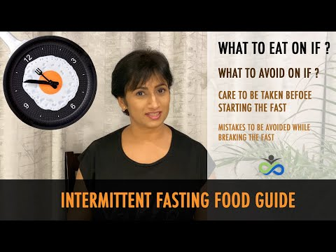 Intermittent Fasting Food Guide | How To Start The Fast | What To Eat On IF