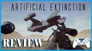 Artificial Extinction! Review - Damn Robots (Video Game Video Review)