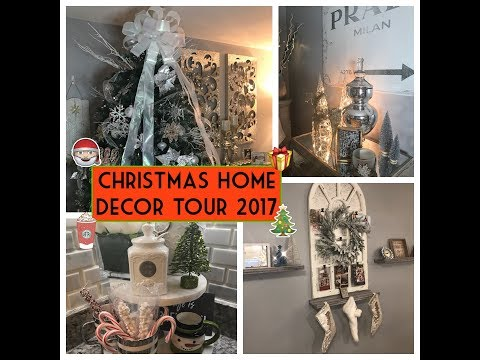 CHRISTMAS HOME DECOR TOUR 2017 EDITION    THE REAL HOUSEWIVES OF YOUTUBE