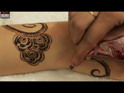 Easy & Simple Gulf Mehndi Design | Cute Henna Mehendi For Girls to Look Elegant with Mehandi Tattoo
