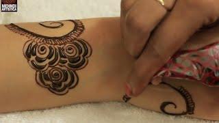 Easy & Simple Gulf Mehndi Design | Cute Henna Mehendi For Girls to Look Elegant with Mehandi Tattoo