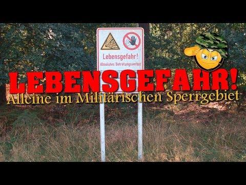 LOST PLACE: LEBENSGEFAHR! | Unterwegs im Militärischen Sperrgebiet |  [Teil 1 von 3]