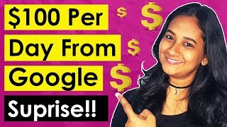 How To Make $100 Dollars A Day From Google