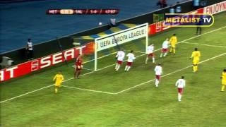1/16 финала Лиги Европы. Металлист - Зальцбург. 4-1