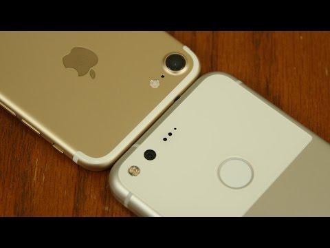 iPhone 7 vs Google Pixel Full Comparison