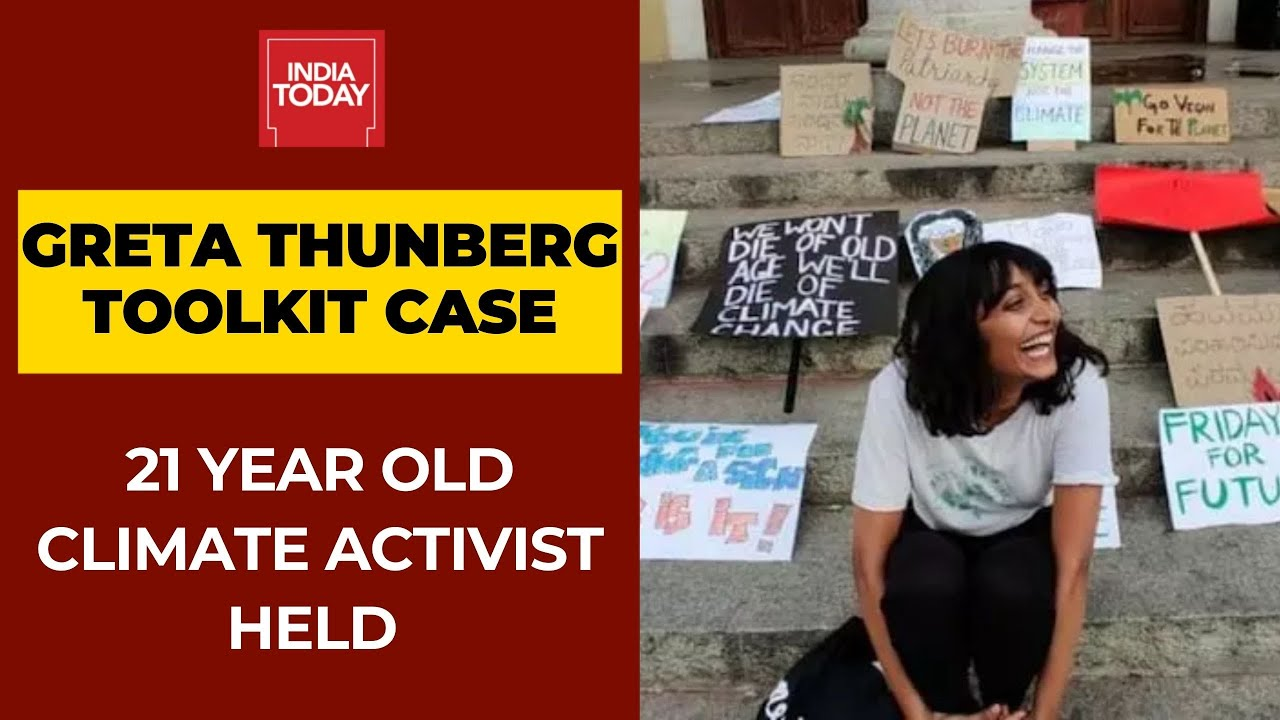 Download Greta Thunberg 'Toolkit' Case: 21 Year Old Climate Activist Held From Bengaluru