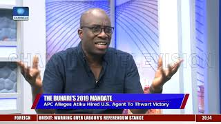 Atiku Didn't Engage Any Foreign Firm To Lobby On His Behalf, Sowunmi Insists |Sunday Politics|
