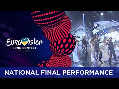 SunStroke Project  Hey Mamma! Moldova Eurovision 2017  National Final Performance