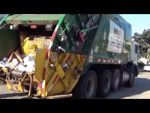 Waste Management 311294 ~ Mack MRU McNeilus Rear Loader