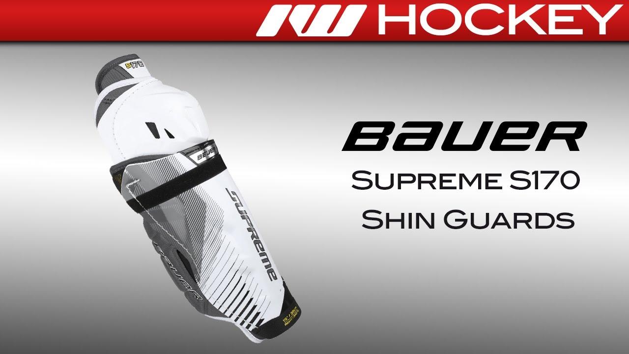 d10d26839f5 Bauer Supreme S170 Shin Guard Review - YouTube