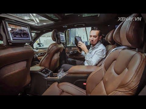 XEHAY - Nội Thất Tuyệt đỉnh Của Volvo XC90 Bản EXCELLENCE Giá 6,5 Tỷ