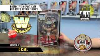 "Protective Display Case For Wwe/mattel ""legends"" Action Figures."