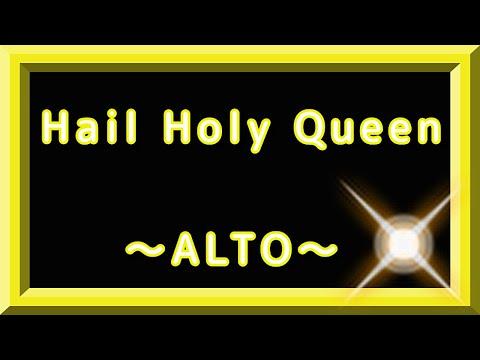 Hail holy queen ~ mezzo soprano ~