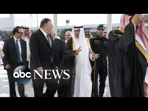Pompeo arrives in Middle East for Iran talks