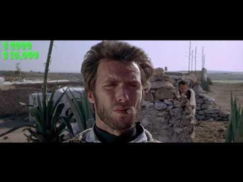 Clint Eastwood's Dollars Trilogy: Total Bounty Profits