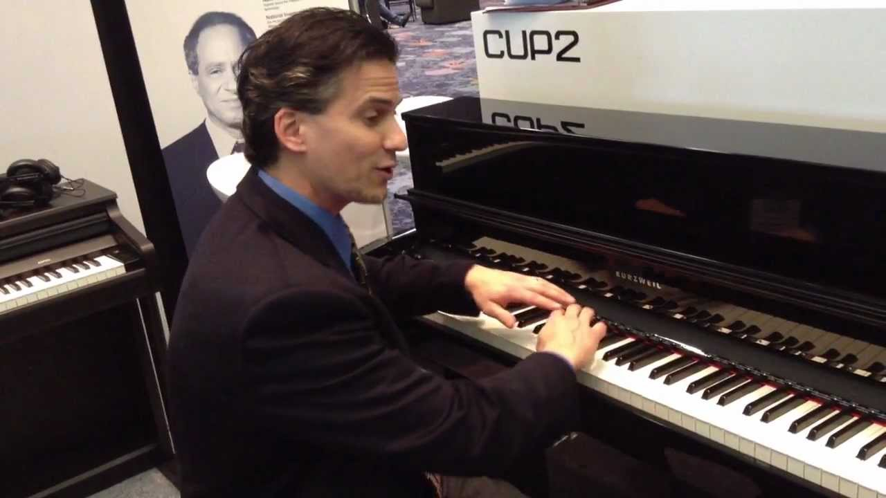 kraft music kurzweil cup 2 digital piano demo at namm 2013 youtube. Black Bedroom Furniture Sets. Home Design Ideas