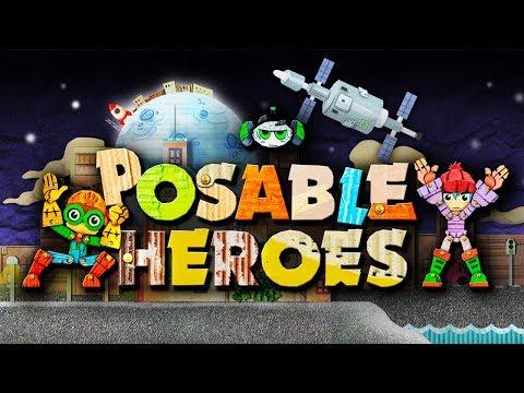 Posable Heroes - DIY Superheroes