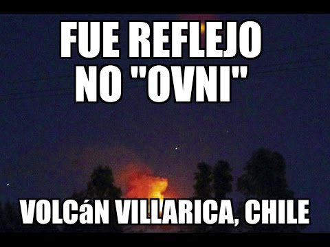 #ENVIVO I Ovnis sobre el Volcán Villarica, Chile: RODRIGO BRAVO. @yohanandiaz