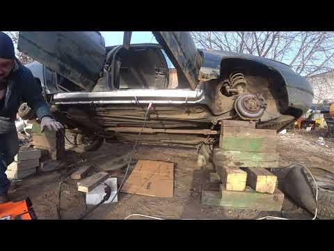 Ремонт порогов автомобиля своими руками видео ваз 2110
