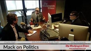 EPA Administrator Scott Pruitt joins Mack on Politics