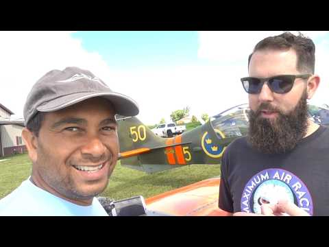 Flying the Scottish Aviation Bulldog Military Trainer