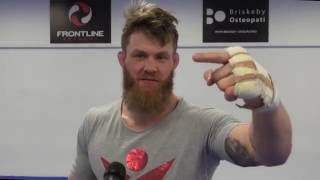 Emil Meek on why he asked for the Palhares fight