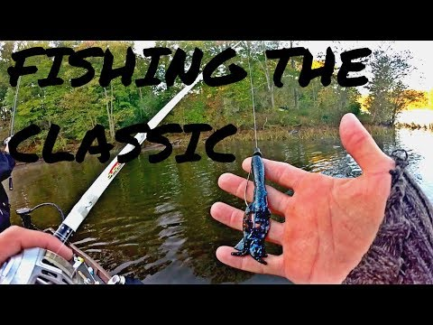 Bass Fishing The CLASSIC! Can We Catch A Solid Limit For Day #2? FHBC Fall Bass Fishing Classic