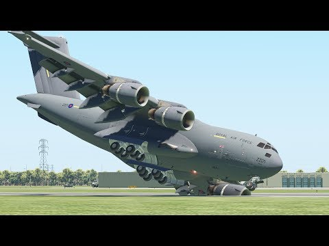 Worst Military Aircraft Emergency Landing From New Pilots | X-Plane 11