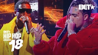 Download lagu Lil Pump Performs Gucci Gang w Gucci Mane Hip Hop Awards 2018 MP3