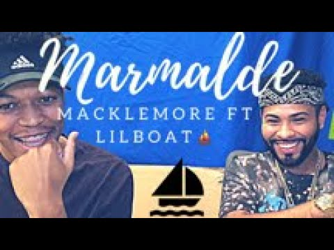 MACKLEMORE FEAT LIL YACHTY - MARMALADE *PATRIOTS DISS* | REACTION