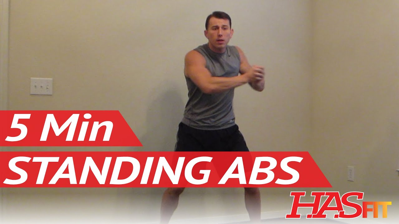 how to get abs standing up