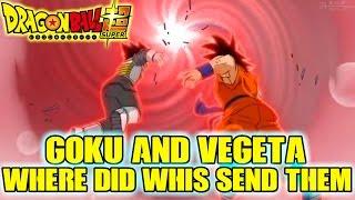 Dragon Ball Super - Where Did Whis Send Goku And Vegeta? Alternative Dimension To Train?
