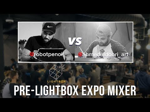 """Sept. 5, 2019 - Lightbox Expo paintONE Mixer co-hosted by Anthony """"robotpencil"""" Jones"""
