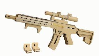 Hoe Maak Kartonnen het Pistool Dat Schiet | Taran Tactische AR-15