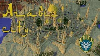 Minecraft Arabic city