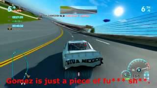 NASCAR Inside Line Trolling - ANGRIEST NASCAR PLAYER